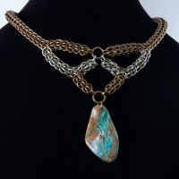 Full Persian and Opal Necklace by chef-chad