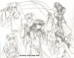 More AU Inuyasha by Heartless-iPod-Ninja