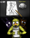 A Gift for Chica - FNaF Comic - Part 3 by AccursedAsche