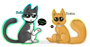 Neko Mellow's Cats by NekoMellow