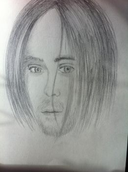 Jared Leto Portrait by MarcCyall