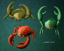 Super Metroid Scisers by QubixDesign