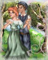 Anne and Gilbert by Mize-meow