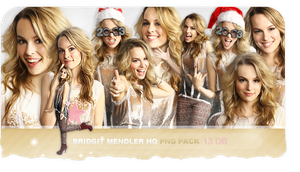 Bridgit Mendler Hq Png Pack by bernadett98