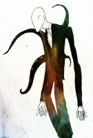 Slender Man stalks by Die-Laughing