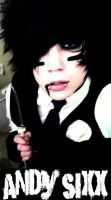Andy Sixx by ToxicValentine42