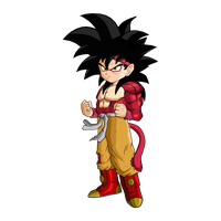 Goku Jr. SSJ4 Version 2 by SpongeBoss