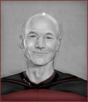 Jean-Luc Picard by nastyomik