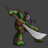 Donatello by LordSameth