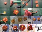 Clay Waffles Tutorial by cherryboop