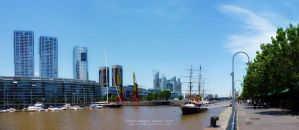 Puerto Madero. Buenos Aires by Gabrielb1984