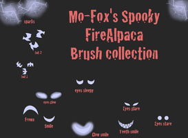 Free Firealpaca brushes: Halloween collection by Mo-fox