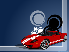 2005 Ford GT by madcoffee