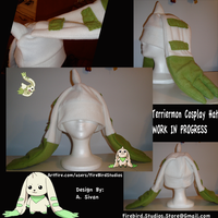 Terriermon Cosplay Hat  W.I.P. by A-Sivan