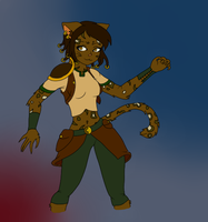 My khajiit by GamerGirl96