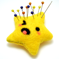 Tiny Pin Cushion of Pain by SeaOfCreations