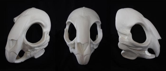 Rodent/Rabbit Skull Mask - blank by Bueshang