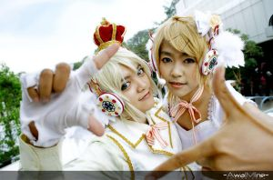 -Cosplay- Kagamine Twins2 by Rupyon