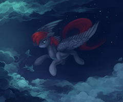 Sky fish by DragonAtaxia