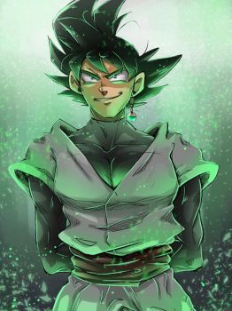 Dragon Ball Super - Green by RedViolett