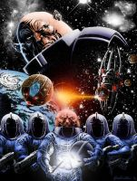 Sontarans (in color!!!) by TurnerMohan