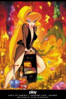 Dragons Lair - Daphne by RobDuenas