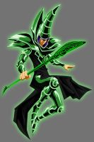 Green Lantern Dark Magician by Lord-Lycan