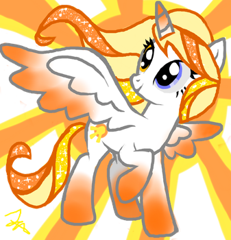 character design~Shimmer Splash by TheAwesomisstres