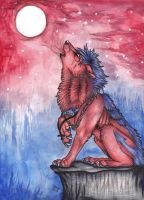 Ivy ::howl at twilight:: by Suenta-DeathGod