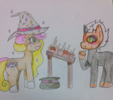 Halloween babies by InuLover097