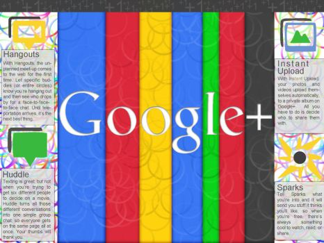 Google Plus Wallpaper by bremstrahlung