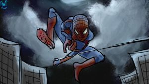 [RQ] The Amazing Spiderman by northernwatertribe
