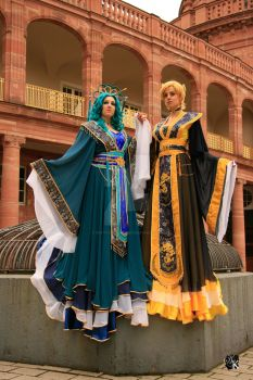 Empresses of the outer Solar System by NettyCosplay