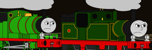 Guess this Thomas Scene (February) by Percyfan94