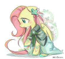 Fluttershy by MeloDenesa