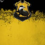 Hufflepuff House Pride - Blank by TheLadyAvatar