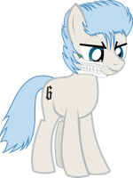 Grimmjow Pony by FeralHamster