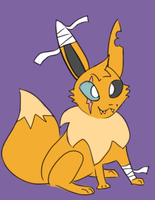 tough eevee adopt [CLOSED] by anteatr