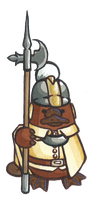 AmBemMdC platypus royal guard by Qsy-and-Acchan