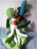 gardevoir and gallade plush by LRK-Creations