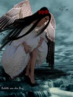 Angel Falls by babsartcreations