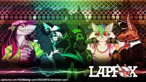Lapfox Crew Wallpaper by CR4CK3RFOX
