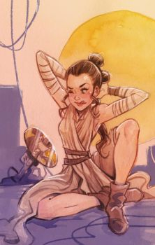Rey by OlayaValle