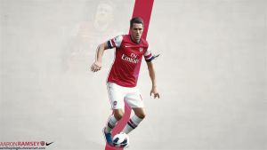 Aaron Ramsey Wallpaper by SemihAydogdu