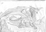 Majestic Dragon by Inqubus-verseum
