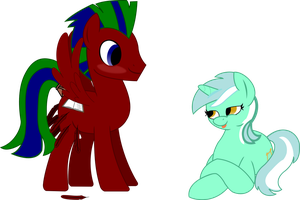 Me and Lyra by Turbeek