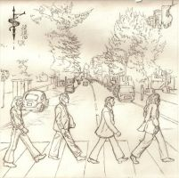 Abbey Road by draconistheory