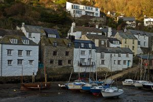 Polperro Evening by parallel-pam