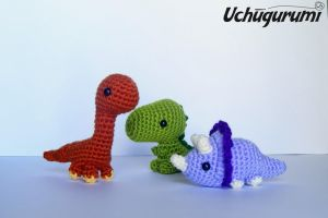 These dinosaurs are very dangerous! :3 by uchugurumi