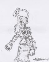 Parasitic Undead - Squiggly from Skullgirls by Hotfeet444